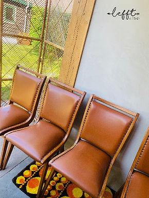 Vintage eetkamer stoelen