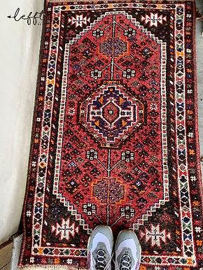 Roze Perzisch Tapijt Zeldzame Kleuren