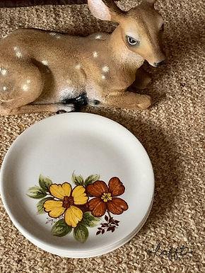 Vintage borden van Woodstock Myott