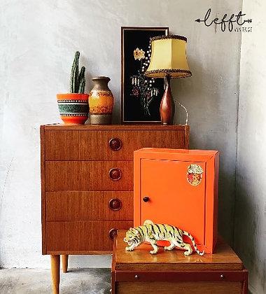 Deens vintage ladenkast