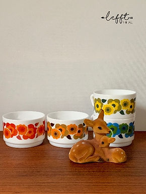 Set Vintage Arcopal Lotus Koppen