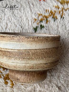 Seventies Vintage Planten Pot Laag