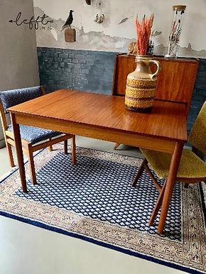 Vintage Eettafel Verstelbaar jaren 60