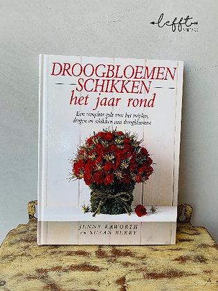 Boek droogbloemen schikken
