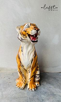 Italiaanse vintage tijger beeld