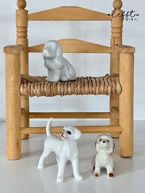 Set miniatuur honden beeldjes