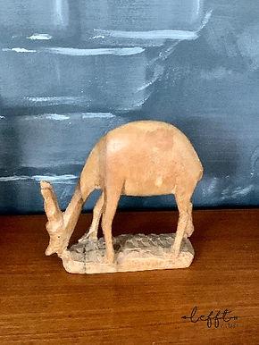 Houten vintage hert