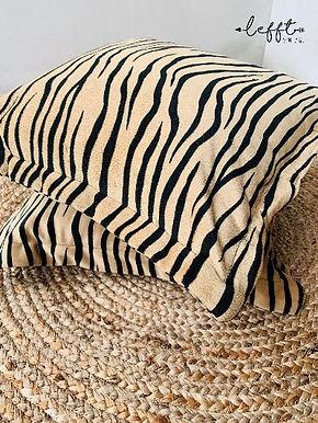 Hippe tijgerprint kussens