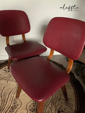 Retro eetkamer stoelen