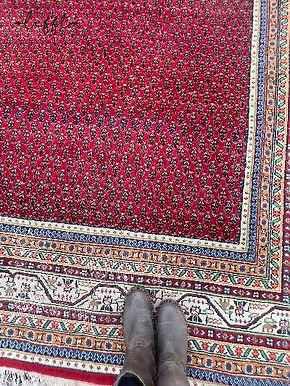 Vintage groot perzisch tapijt