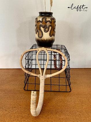 Rotan/ Bamboe Kapstok Haak