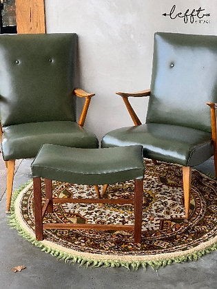 Vintage jaren 50/60 fauteuils