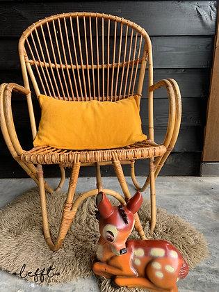 Rotan Vintage Stoel Rohe Noordwolde 60's