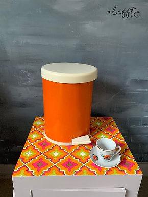 Retro Oranje Pedaalemmer 70's