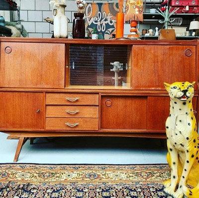 Vintage kast/dressoir jaren 60/70