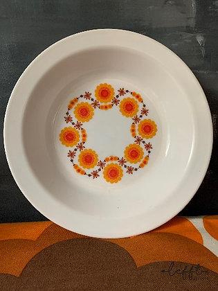 Arcopal Lotus Serveer Schaal Jaren 70