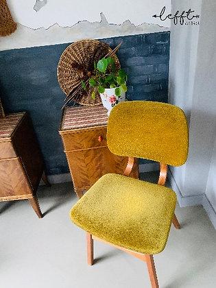 Sixties stoel geel