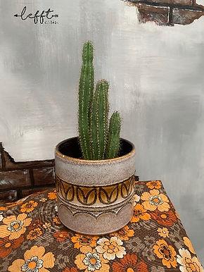 Retro aardewerken pot