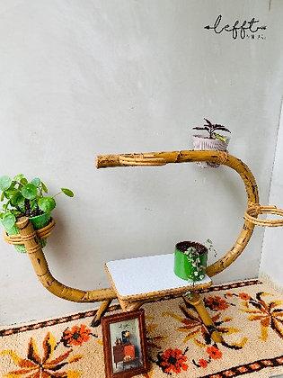 Rotan plantenstandaard Rohe