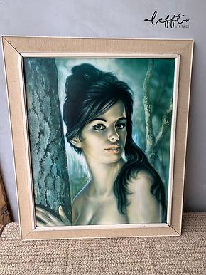Schilderij Zigeunermeisje Torino