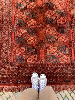 Vintage Perzisch Tapijt Kleed Sleets