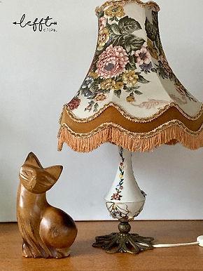 Vintage Sjieke Lamp Jaren 50