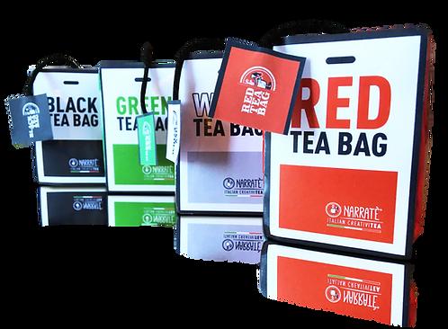 Tea - BAG Narratè | La prima Tea-Bag che diventa una Shopper