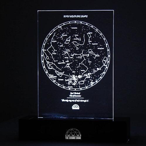 Star Map - Lit