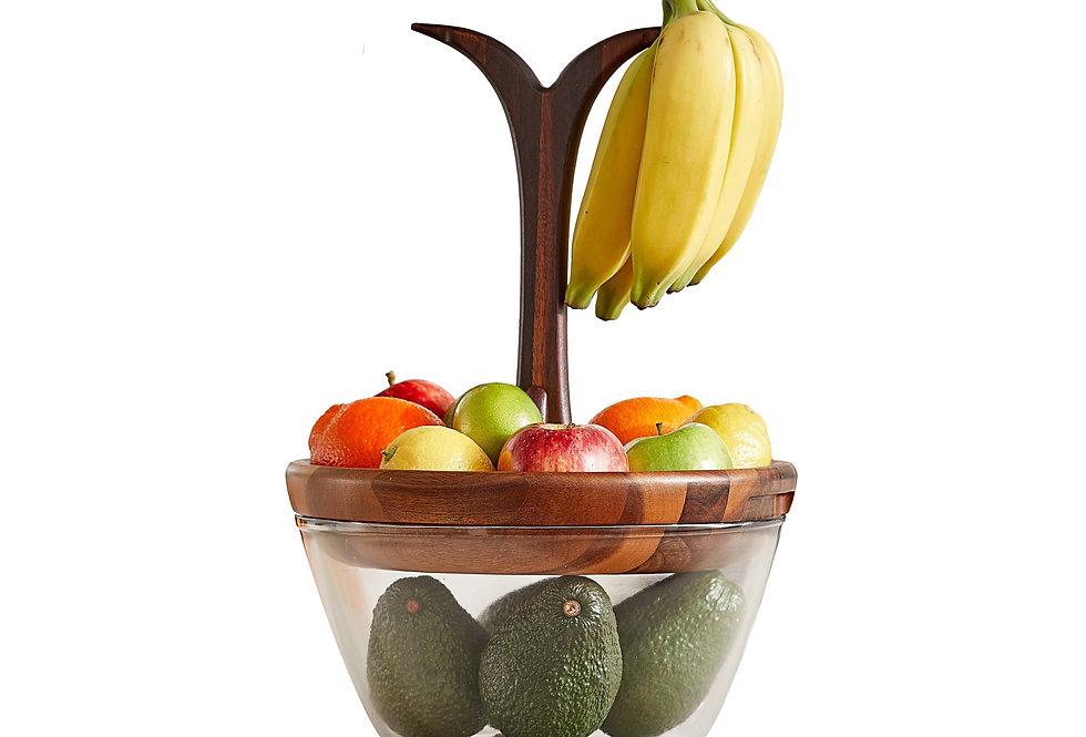 """The Harvest"" Fruit Tree Bowl - Acacia Wood"