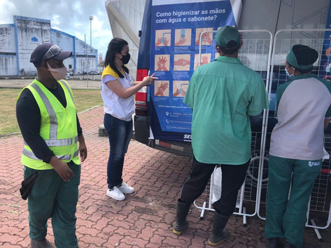 CEREST Regional Recife participa de evento Saúde nos Portos