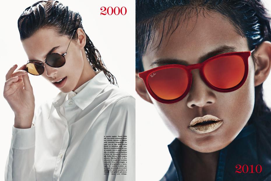 Vogue Italia, times of fashion