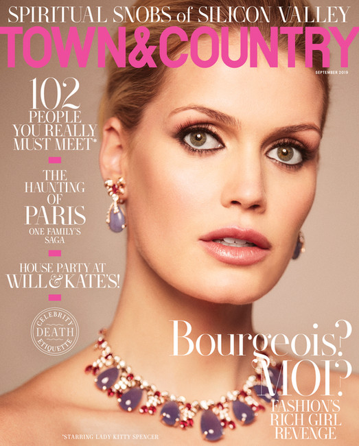 Town and Country, Lady Kitty Spencer