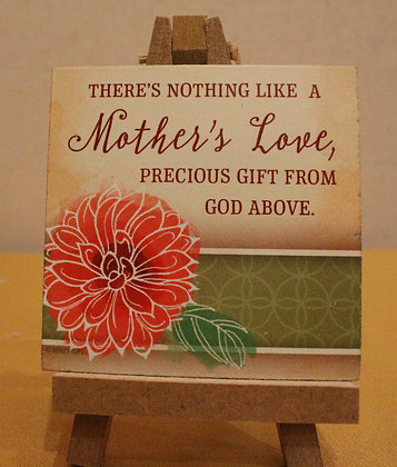 MOTHER'S LOVE Wooden Sign