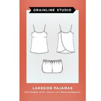 Lakeside Pajamas - Grainline Studios Pattern