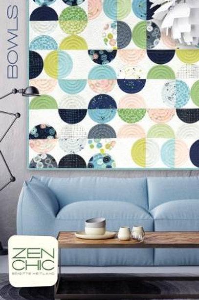 Quilt Pattern - Bowls