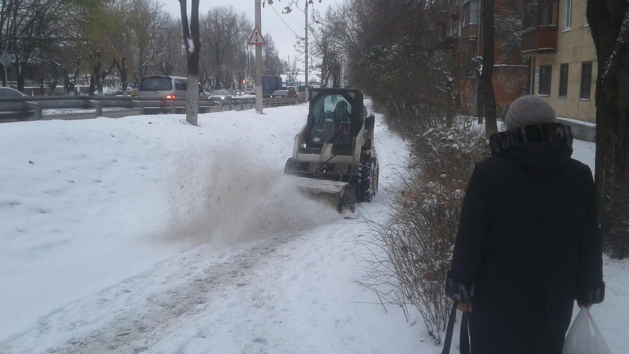 Уборка снега 2