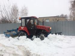 Уборка снега 3