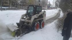 Уборка снега 1