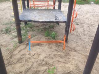 Ремонт детской площадки