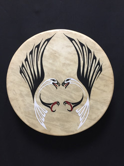 Drum - Elk Skin