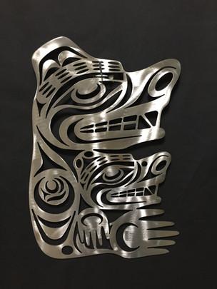 Metal Art - Bear