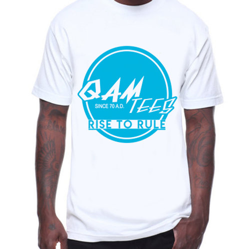 "Qam ""Rise to Rule"" Logo Blue"