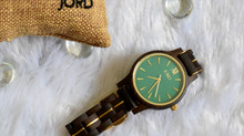 ICONIC REBOOT Antique JORD Dark Sandalwood Emerald Dial - Frankie 38 - Collection