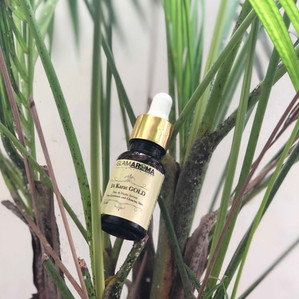 """24 Karat Gold Day & Night Serum"" by Glamaroma"