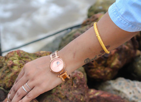"My Favorite Watch: My Watch by ""JORD"" - CORA POLARIS AUTOMATIC KOA & ROSE GOLD WOODEN WATCH"