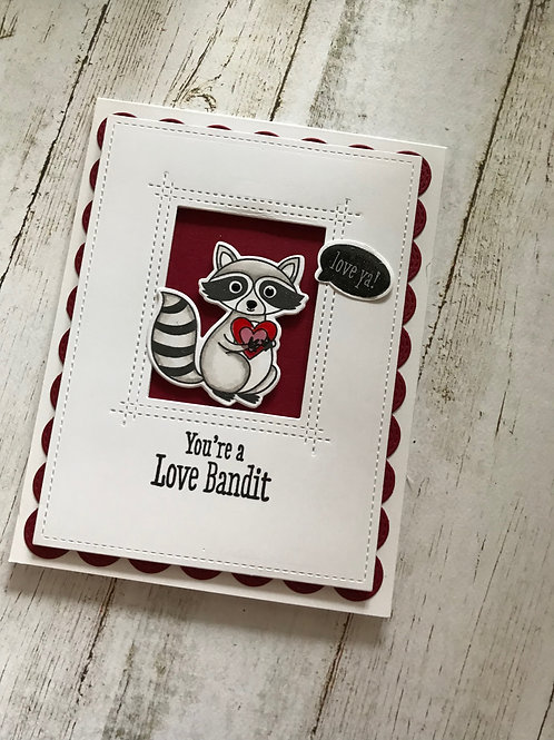 Love Bandit 1 Valentine Card