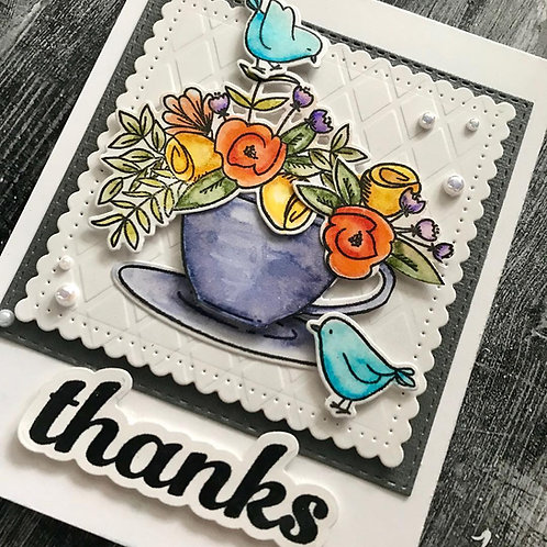 Cup Full of Thanks Card