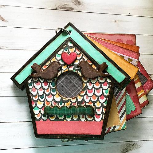 Lovebird House Scrapbook
