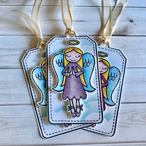 Angel Christmas Gift Tags (3)
