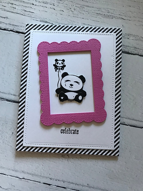 Panda Birthday Greeting